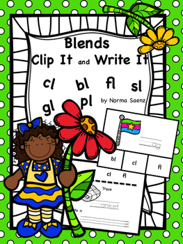 Blends - Clip It and Write It
