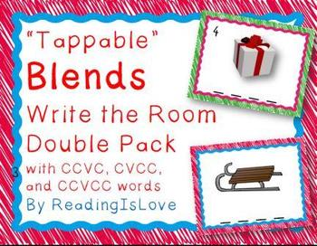 Blends Combo Pack:  Write the Rooms and Matching & Sorting Activities