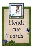 Blends Cue Cards - Pond Theme