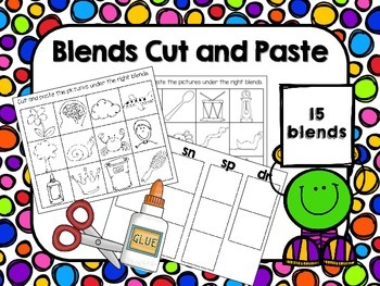 Blends Cut and Paste