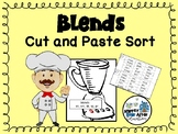 Blends - Cut and Paste Sort