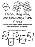 Blends & Diagraphs Flash Cards