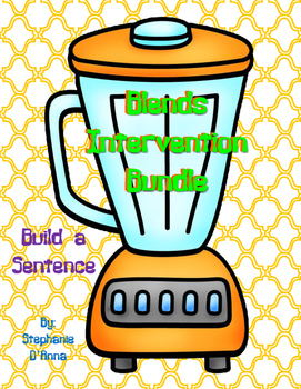 Blends Differentiated Build a Sentence