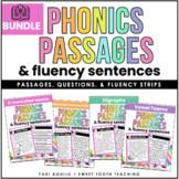 Blends, Vowel Teams & Digraph BUNDLE- Reading Passages & F