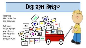 Blends/ Digraph Bingo