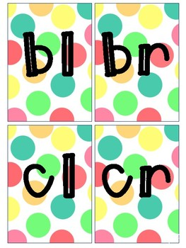 Blends & Digraphs Flash Cards
