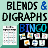 Blends & Digraphs Bingo
