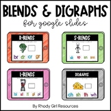 Blends & Digraphs Bundle for Google Slides | Distance Learning
