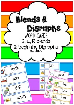 Blends&Digraphs Cards