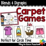 Blends & Digraphs Carpet Games