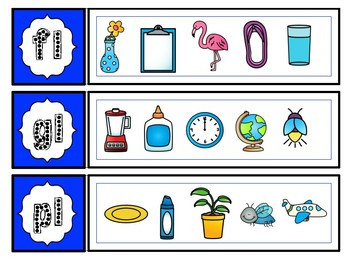 Blends & Digraphs Clip It or Circle It