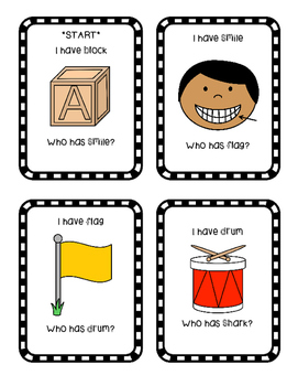 Blends Digraphs I have, Who has?