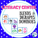 Blends and Digraphs Dominoes (Literacy Center)