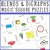 Blends and Digraphs Literacy Center Game