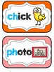 Blends & Digraphs Mini-Reference Posters Color/B&W {Primar