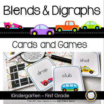 Consonant Blends and Digraphs On the Road Games
