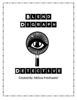 Blends & Digraphs Picture Cards
