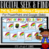 Blends & Digraphs Seek & Find: Pot of Gold
