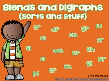 Blends and Digraphs {Sorts and Stuff}