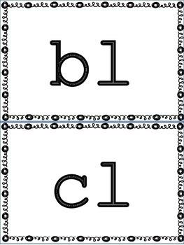 Blends, Digraphs, Tricky Vowels Flash Cards