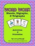 Blends, Digraphs,  & Trigraphs Pack