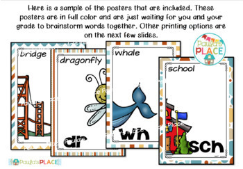 Blends Digraphs Trigraphs Posters