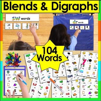 Blends & Digraphs Word Sort