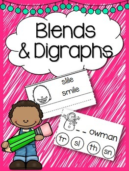 Blends & Digraphs Worksheets FREEBIE