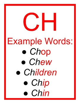 Blends, Digraphs, and Trigraphs