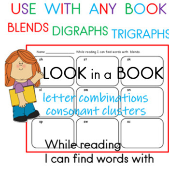 Blends, Digraphs, and Trigraphs   Use with any book