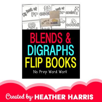 Blends & Digraphs Flip Books