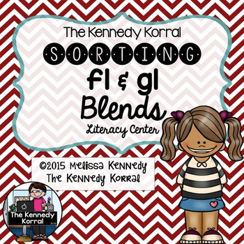 Word Work: Blends - FL and GL