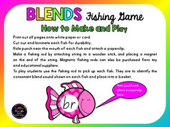 Blends Fishing Game