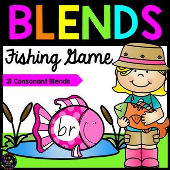 Consonant Blends Fishing Game