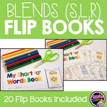 Blends Flip Books