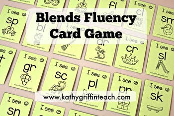 Blends Fluency Card Game