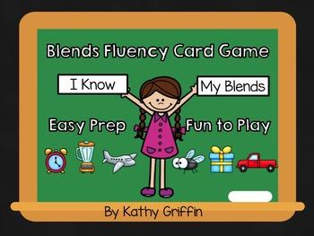 Blends Fluency Card Game
