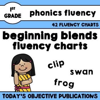 Blends Fluency Charts (Beginning Blends)