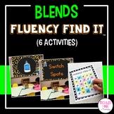 Blends Fluency Find It® (beginning and ending)