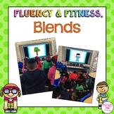 Blends Fluency & Fitness Brain Breaks Bundle