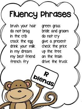 Blends Fluency Packet