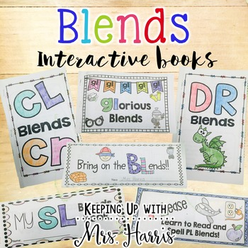 Blends - Blends Foldable Books Set
