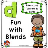 Blends Fun / CL Blend Interactive Matching Cards & Activities / Montessori Style