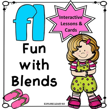 Blends Fun / FL Blend Interactive Matching Cards & Activities / Montessori Style