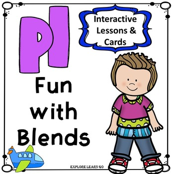Blends Fun / PL Blend Interactive Matching Cards & Activities / Montessori Style
