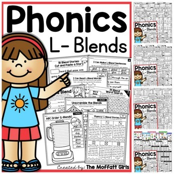 Blends (THE Bundle) NO PREP R-Blends, L-Blends S-Blends, Ending Blends