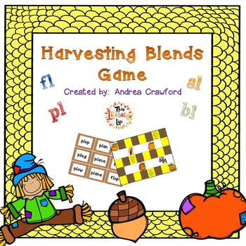 Blends Game ~ Harvesting Blends (bl, fl, pl, sl)