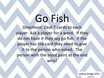 Blends Go Fish
