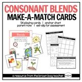 Blends: Phonics Make-a-Match Cards
