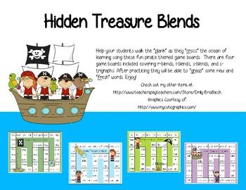 Blends- Hidden Treasure Game Boards